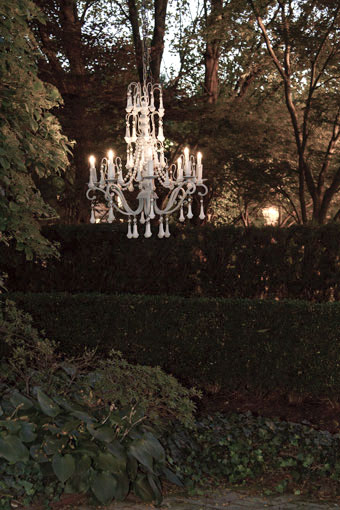 Tree Chandelier - The Conservatory Garden Wedding Venue, St. Louis, MO